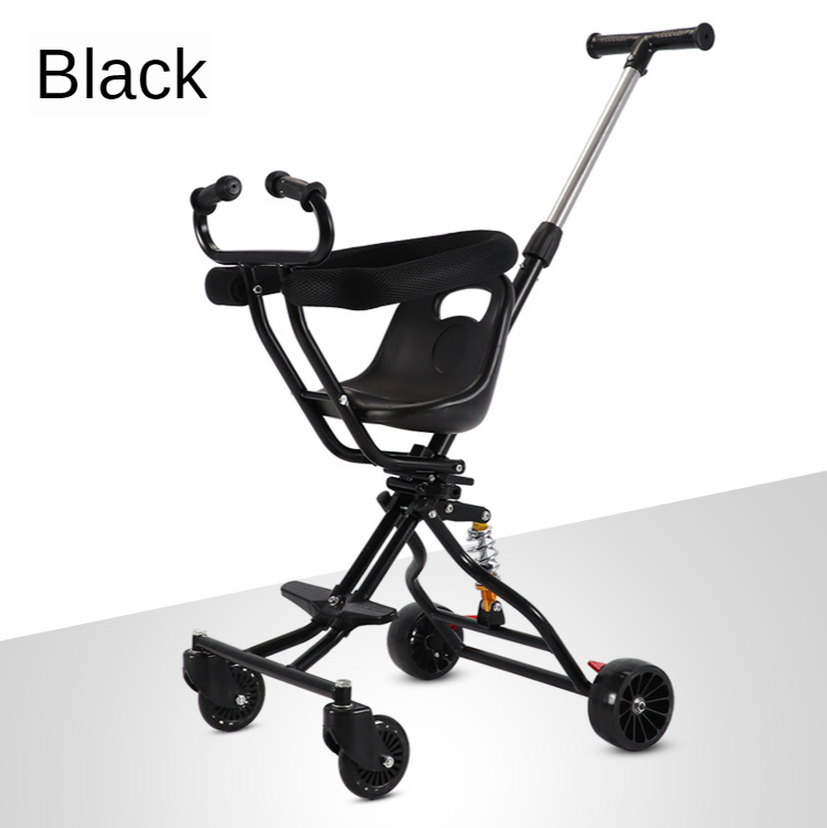 Hot-selling Baby Stroller, Sliding Baby Artifact, Lightly Foldable, Walking Baby, Taking Baby Out, Four-wheel Baby Stroller