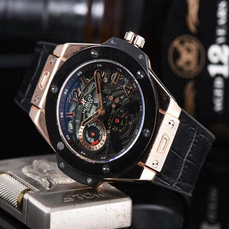 NEW Luxury Brand Mechanical Wristwatch Mens Watches Quartz Watch With Stainless Steel Strap Relojes Hombre Automatic 2