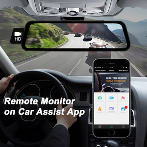 Image 5 - Bluavido caméra de tableau de bord avec rétroviseur, 10 pouces, enregistreur 4G, Android 8.1, GPS, FHD 1080P, ADAS, DVR, détecteur pour voiture, wi fi, Bluetooth