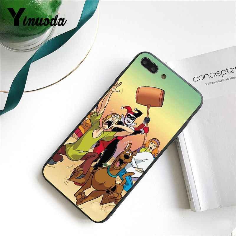 Yinuoda Shaggy und Scooby Doo Nach Foto Weiche Telefon Fall Abdeckung für iPhone 6S 6plus 7 7plus 8 8Plus X Xs MAX 5 5S XR