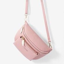 Талия бренд женская сумка мягкий PU кожаный ремень сумки дизайнер Messenger плечо грудь женская мода поясная сумка хип сумочки новый