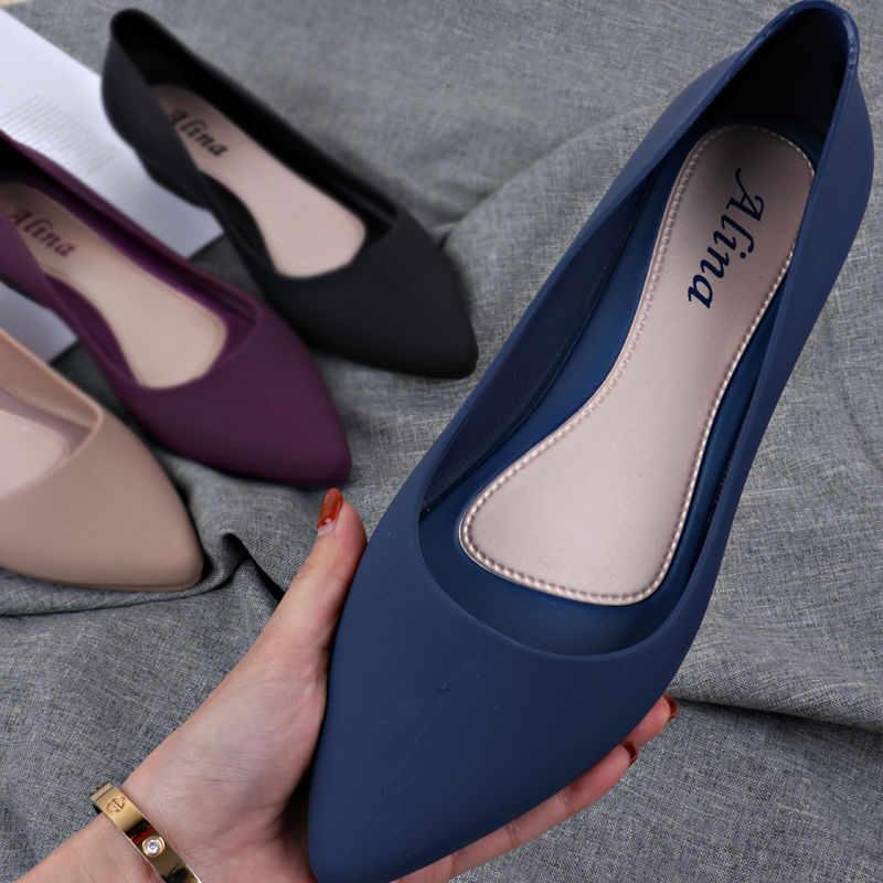 Bayan lüks şeker renk parti ayakkabı pompaları bahar rahat çalışma ofisi çıplak düşük topuklu moda katı renk blok topuk ayakkabı mavi yeni