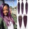Rebecca fioletowe fioletowe włosy ludzkie w kolorze blond brazylijskie doczepy do włosów splot wiązek proste włosy hurtownia pojedynczych wiązek sprzedawcy włosów