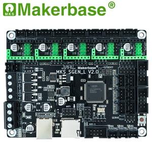 Image 2 - Makerbase MKS SGen_L V2.0 3D מדפסת חלקי 32Bit בקרת לוח 120MHZ MCU TMC2208 TMC2209 TMC2225 uart מצב