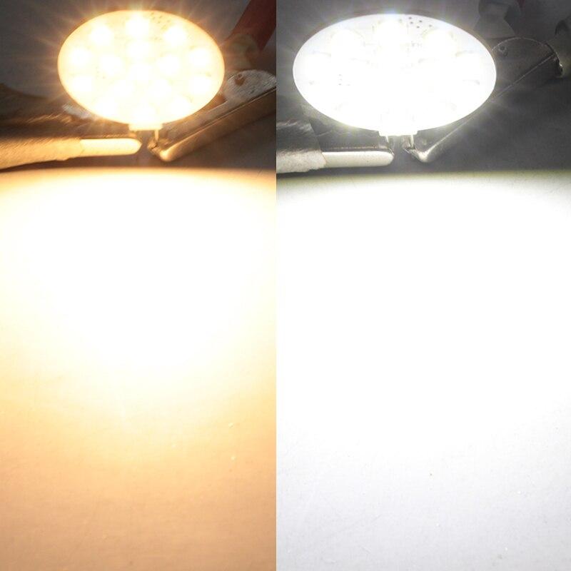 Купить с кэшбэком ledlamp G4 led bulb Round 12v 24v super 2W Replace Halogen Lamp Spot Lighting Boat energy saving lamp 12 24 v volts bombilla