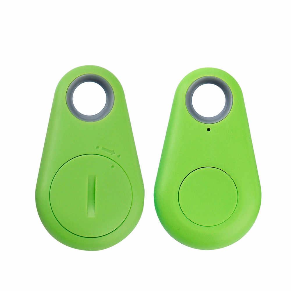 Carprie Bluetooth Tracker Locator Anti-Lost Pencurian Perangkat Alarm Remote GPS Tracker Anak PET Tas Dompet Kunci Finder Telepon kotak