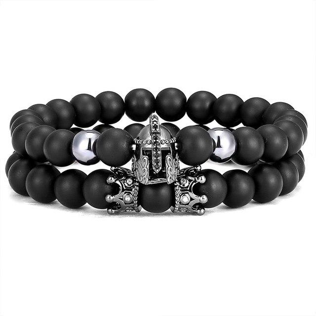 Black Stone Beads Rock...