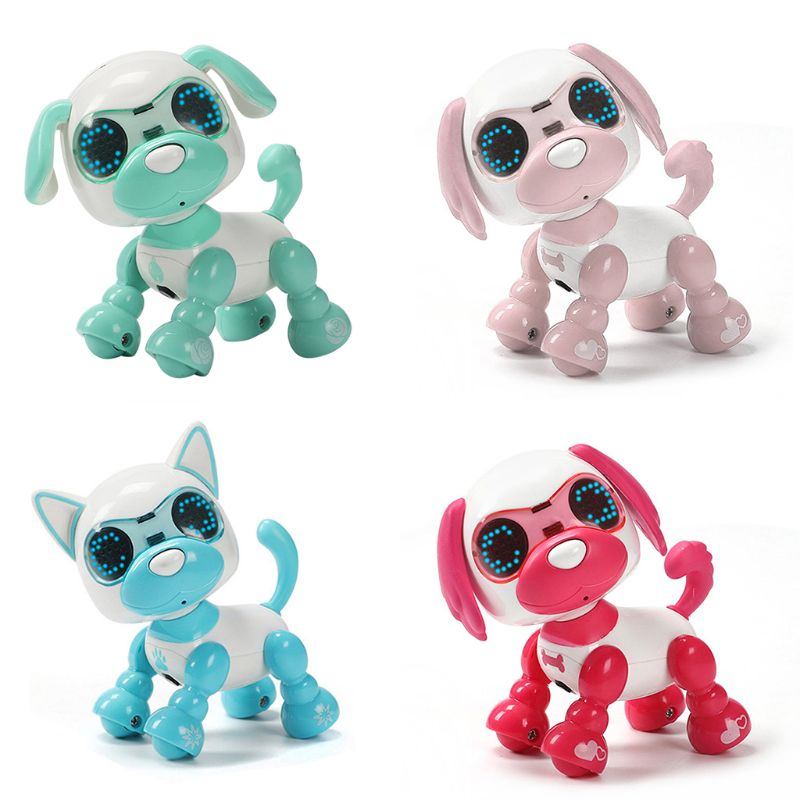 Robot Dog Robotic Puppy Interactive Toy Birthday Gifts Christmas Present Toy For Children