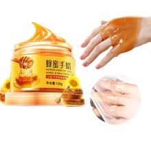 Beauty Milk Honey Paraffin Wax Hand Mask Hand Care Moisturizing Whiten