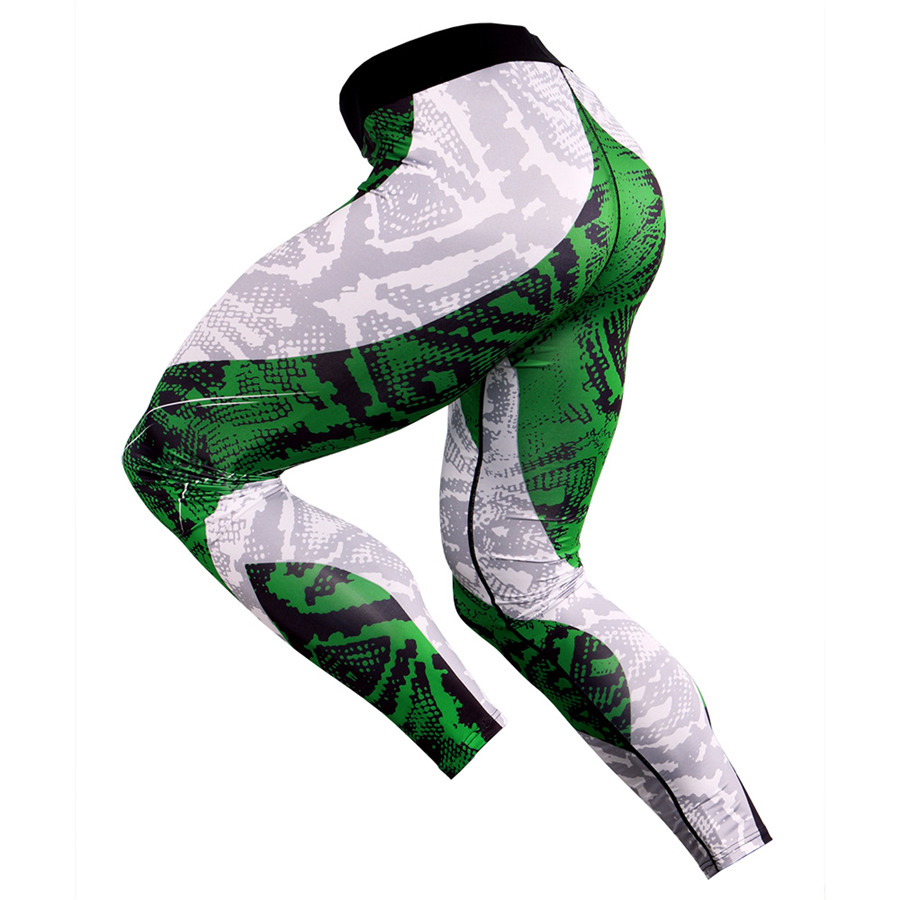 2019 Running Tights Men Compression Fitness Pants Mens Sports Leggings Quick DryGym Training Jogging Trousers Male Yoga Wear