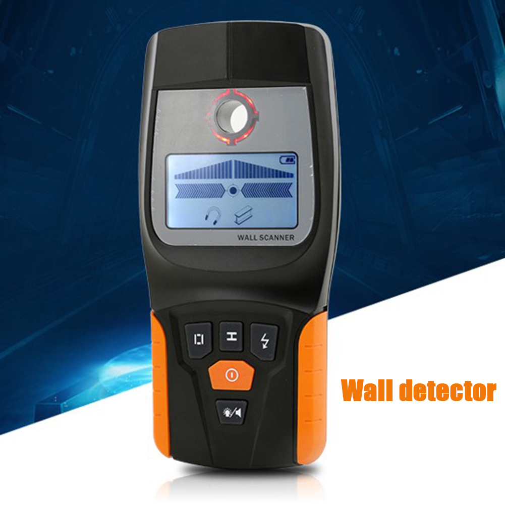 3 In 1 Metal Detector Find Wall Scanner Wood Cable Electrical Wire Stud Finder With LED and Beeps Alarm New Arrival