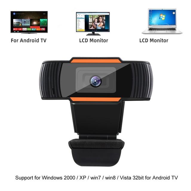 Webcam 1080P 720P 480P Full HD Web Camera Built-in Microphone Rotatable USB Plug Web Cam For PC Computer Mac Laptop Desktop 2