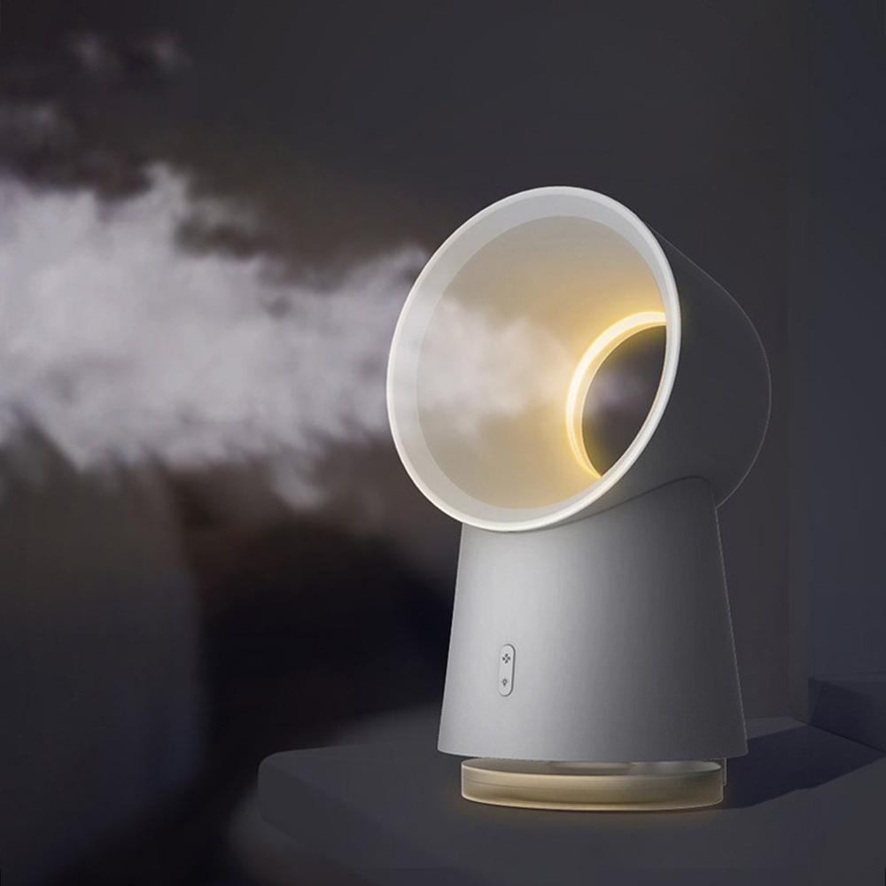 Bladeless Fan AirFlow Cooling Fan Mute Dedicated Leafless Home Office Desk Air Cooler Baby Safe Mist Fan
