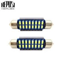 2x Canbus Led Festoon 28mm 31mm 36mm 39mm 42mm SV8,5 C10W C5W Lamp Lighting Car Dome Bulb License Plate Light 12V white