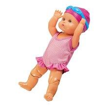 Unisex wodoodporne baterie lalki mogą pływać dzieci wanienka pływanie zabawka basenowa