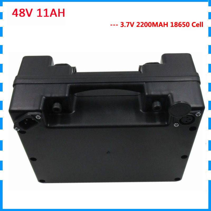 Best Chance for  48volt Electric bicycle battery 48V 11AH 48 V ebike Lithium ion wheelchair battery 11AH with black