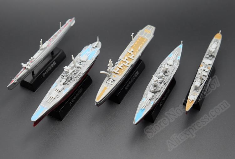 Out Of Print Plastic Warship World War II Japanese Military Aircraft Carrier  Assembling Model For Collection