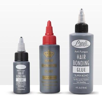 Cola adesiva de cabelo, cola líquida super adesiva para tecelagem e cabelo, 1 garrafa de 1/2/4oz extensão de cabeleireiro profissional, ferramentas para cabeleireiro
