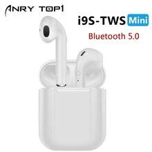 New i9S TWS Mini Bluetooth Earphones Wireless Headset Headphones
