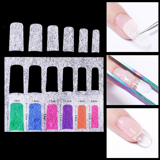 5/10pcs Fiber Nail  Art Extension for UV Gel