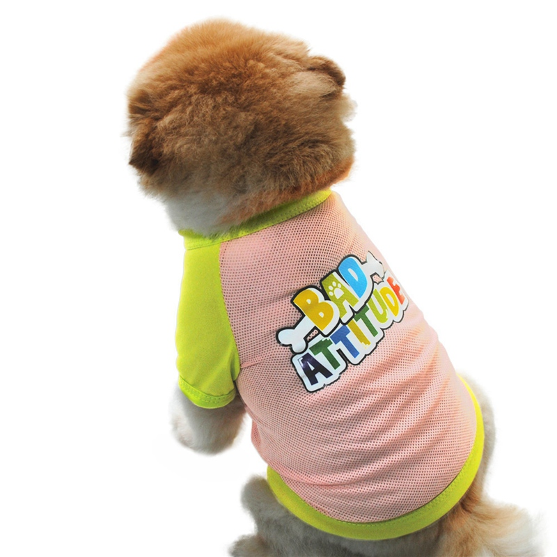 Summer Dog Clothes for Small Dog Clothing Pet Mesh Breathable Vest for Dogs Jacket Clothing for Chihuahua Pet Puppy Costume 13