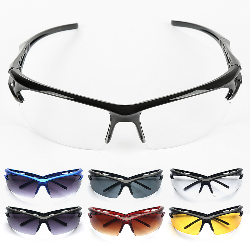 UV400 Cycling Glasses Anti-UV Goggles Bicycle Motorcycle Sunglasses Outdoor Sport Hiking Riding Driving Eyewear Unisex