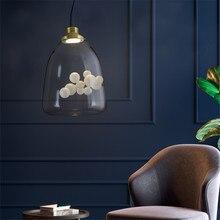 Современные Hanglamp Столовая Спальня Подвесные Светильники Лофт, Светильники Скандинавской Живое Искусство Лампы