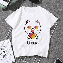 Женская футболка с принтом летняя в стиле Харадзюку графическим