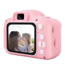 Перезаряжаемая цифровая мини камера милая мультяшная детская
