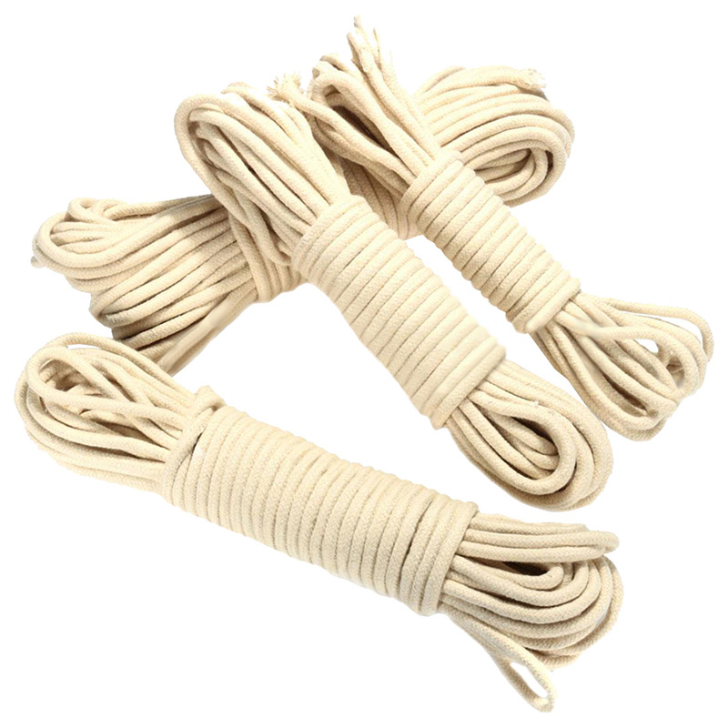 20M Multi-function Traditional Washing Clothes Pulley Line Rope Dia. 4mm