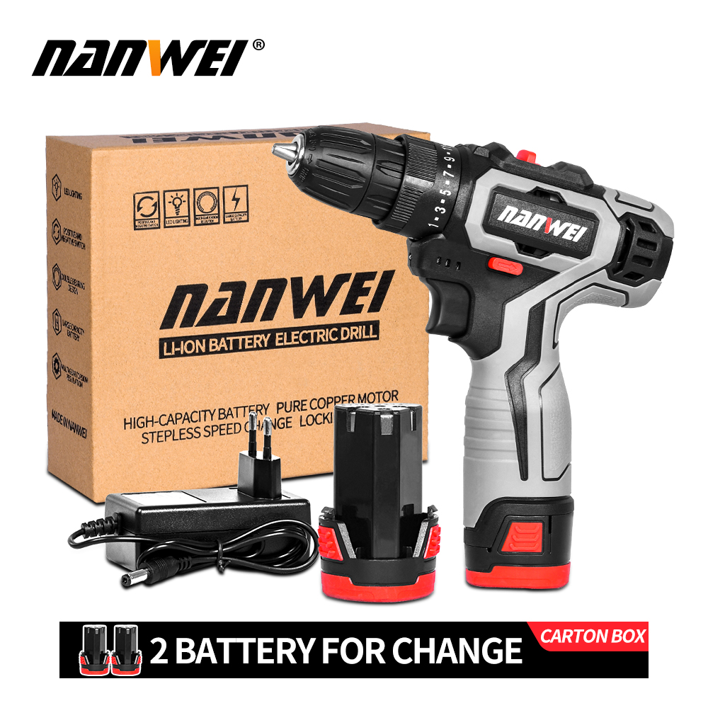 2020 hot sale Most popular cordless drill mini drill for homehold