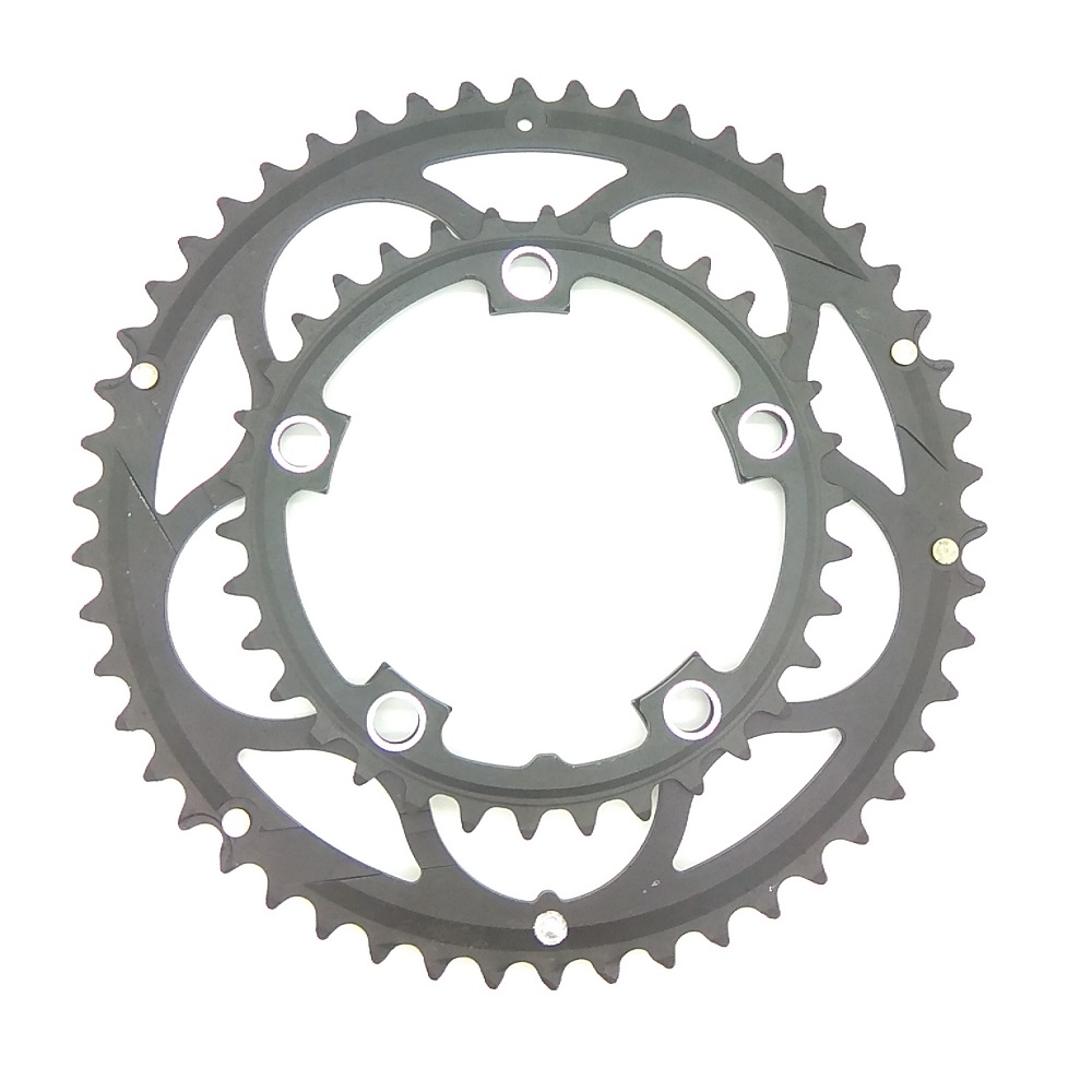 Image 5 - Chainwheel BCD110 56T 53T 52T 50T 48T 46T 44T 39T 38T 36T 34T Chainring Road Bicycle Folding Bike Chain rings CNC for Dual Disc-in Bicycle Crank & Chainwheel from Sports & Entertainment
