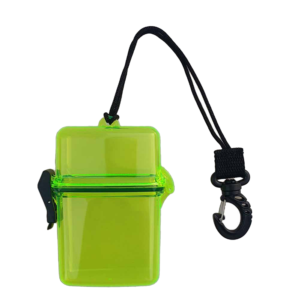 Waterproof Dry Box, Watertight ID/Badge//Money Holder Case - Tough, Dust