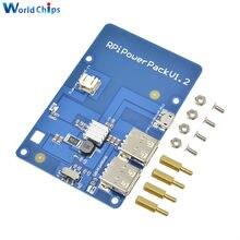 Dla Raspberry Pi3 bateria litowa PowerPack karta rozszerzenia zasilacz z przełącznikiem dla Raspberry Pi 3, Model B