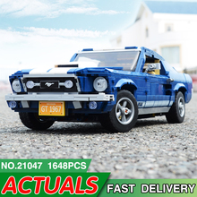 21047 Forded Mustanged LegoEDS 10265 Creator Technic Car Model Building Kit Blocks Brick Educational Toys For Children DIY Gifts