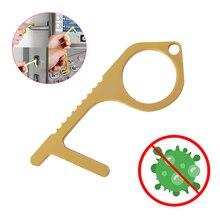 Открывалка дверная Бесконтактная, брелок для ключей с ассистентом, инструмент для ручки двери, для лифта