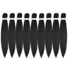 Braiding-Hair Hair-Extension-Box Pre-Stretched Synthetic Ez Kong Li Wholesale Wholesale