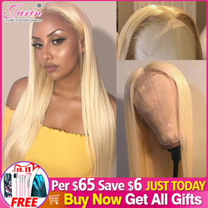 613 Honey Blonde Color Remy Brazilian Straight Lace Front Human Hair Wig 8-28 inch 1B 613 Ombre Frontal Wigs for Black Women