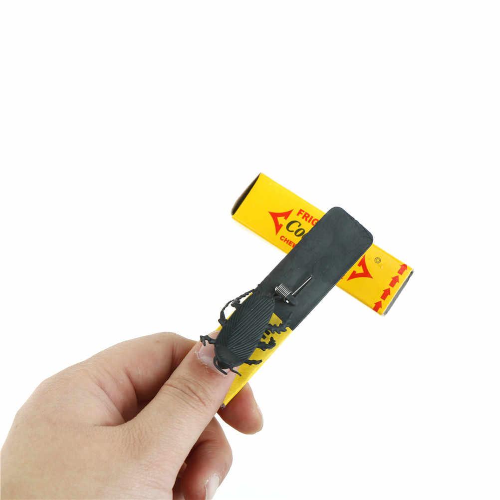 Komik şaka simüle sakız hamamböceği Prank korkunç oyuncaklar çocuklar çocuklar için interaktif oyuncaklar April Fool cadılar bayramı hediye