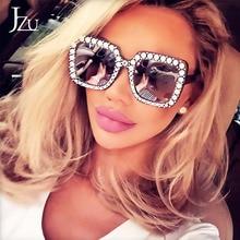 Oversize sunglasses Top Rhinestone Luxury Brand