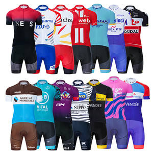 Shirt Cycling-Clothing-Set Bike-Wear MTB Maillot Culotte France Pro-Team Ropa-Ciclismo