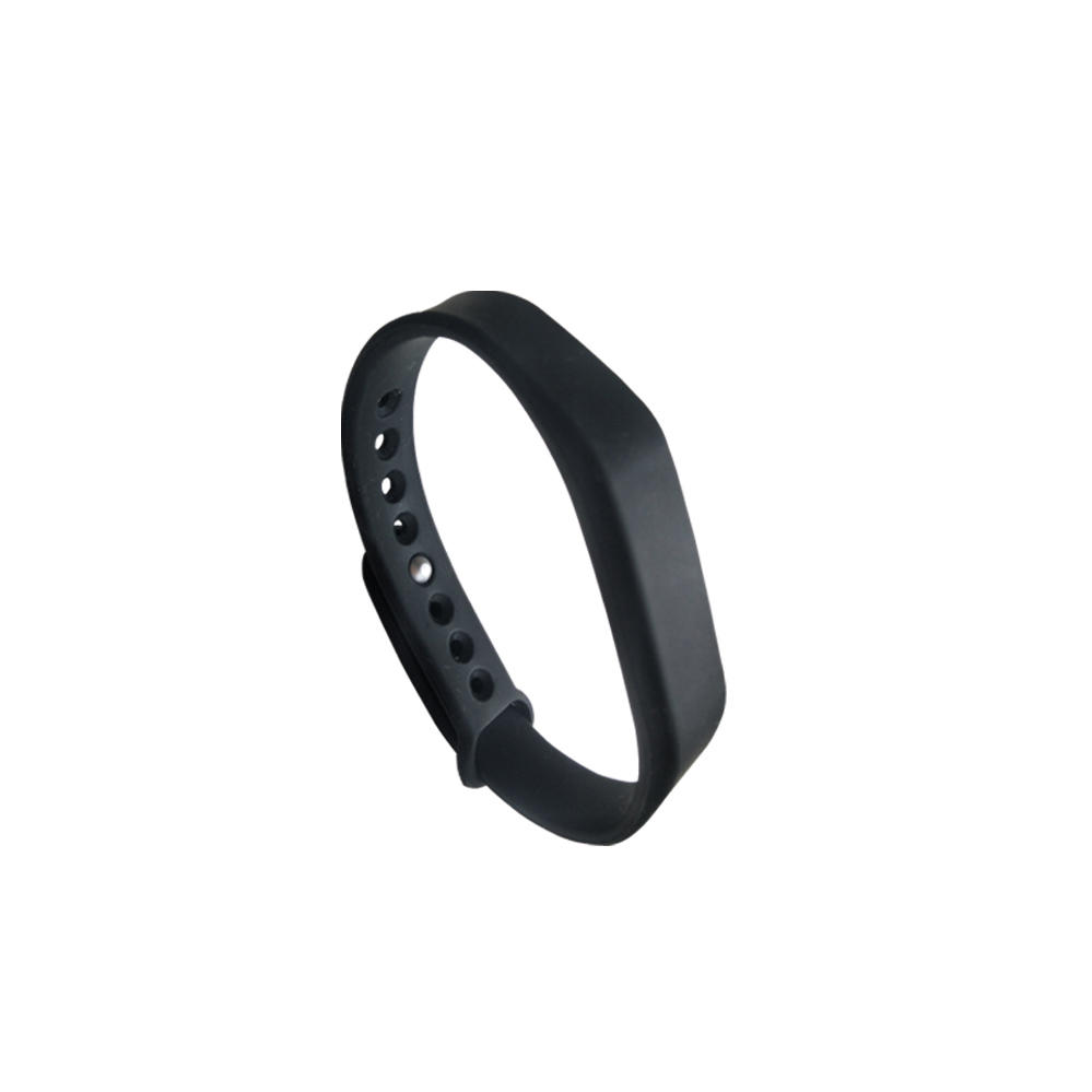 (1PCS/LOT New Dellon RFID Adjustable TK4100 125khz Silicone Waterproof RFID Wristband Bracel ID Tags