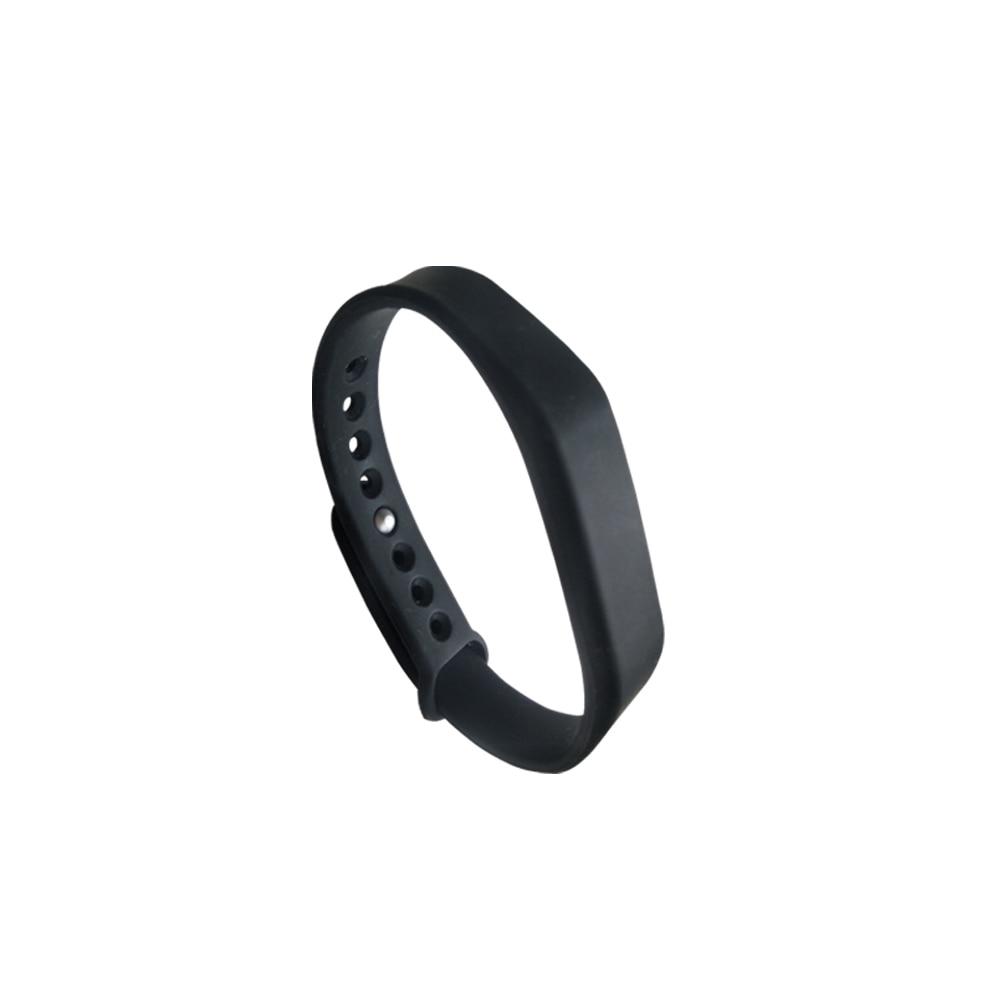(1PCS/LOT New Dellon RFID Adjustable TK4100 125khz Silicone Waterproof RFID Wristband Bracel ID Tags