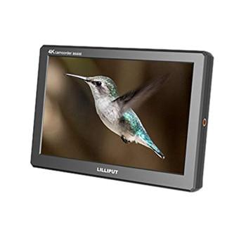 ABKT-Lilliput A8S 8.9 Inch 4K 1920X1200 3G-SDI Mini HDMI Monitor 3D-LUT 1920X1200 IPS Camera Field Monitor for DSLR Camera Video