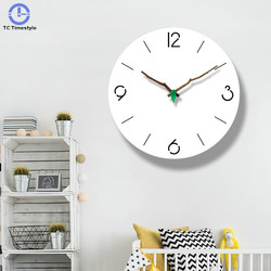 Japoński zegar ścienny sypialnia proste nowoczesny dom cichy pokój dzienny zegarek zegarek kwarcowy okrągły dekoracje wiszące cichy osobowość
