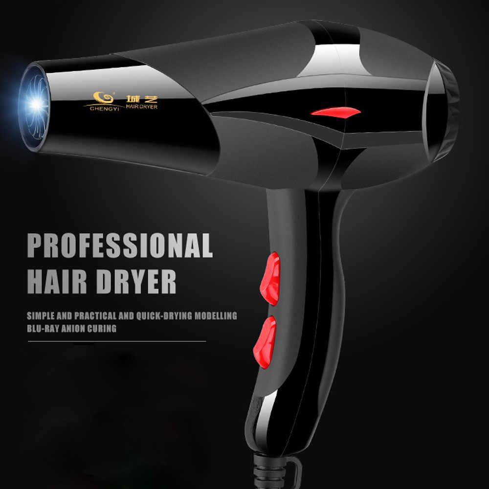 2100w forte puissance sèche-cheveux pour coiffure Salon de coiffure outils sèche-cheveux bas sèche-cheveux sèche-cheveux ventilateur 220-240v EU Plug f
