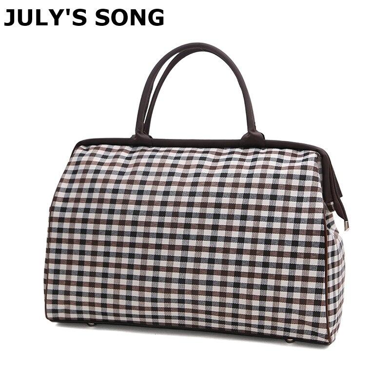 Women's Travel Bag High Quality Oxford Shoulder Bag Large Capacity Waterproof Luggage Duffle Bag Men Casual Travel Bags LGX63