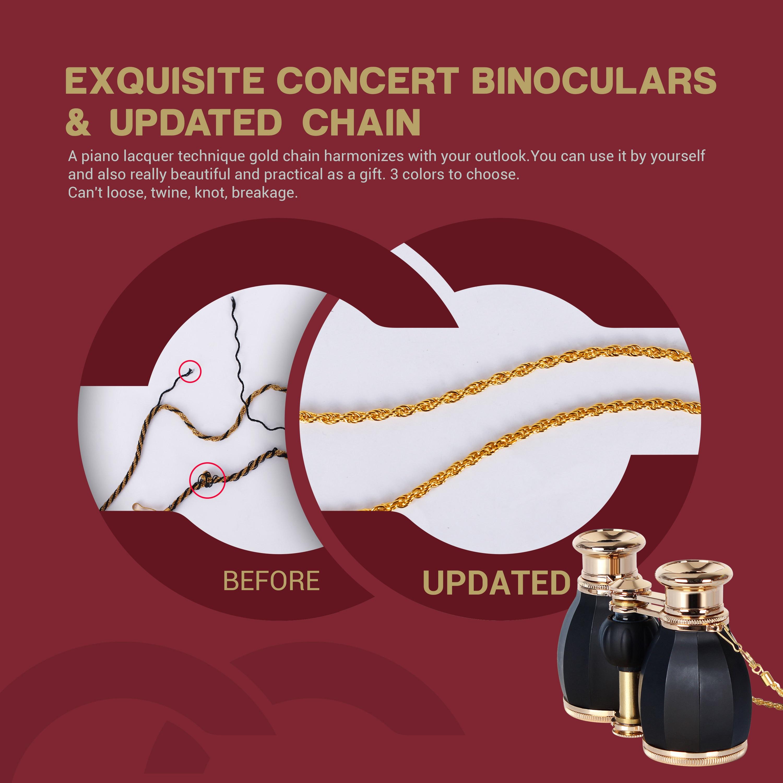 óculos de ópera binóculos para adultos femininos