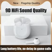 TWS Bluetooth Kopfhörer Touch Control Musik Drahtlose Kopfhörer 9D HIFI Stereo Bass Headset IPX5 Wasserdichte Ohrhörer mit Mikrofon