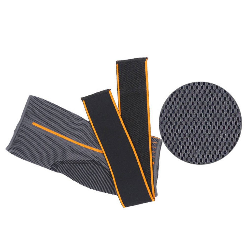 1pc Brace Ankle Support Striped Sprain Prevention Running Sports Breathable Nylon Elastic Gym Magic Sticker Warm Strap Protector